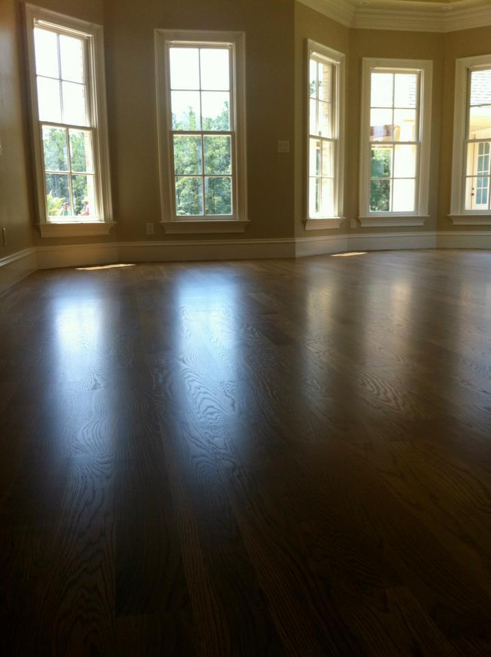 4 White Oak Select Installation Sanding Finishing