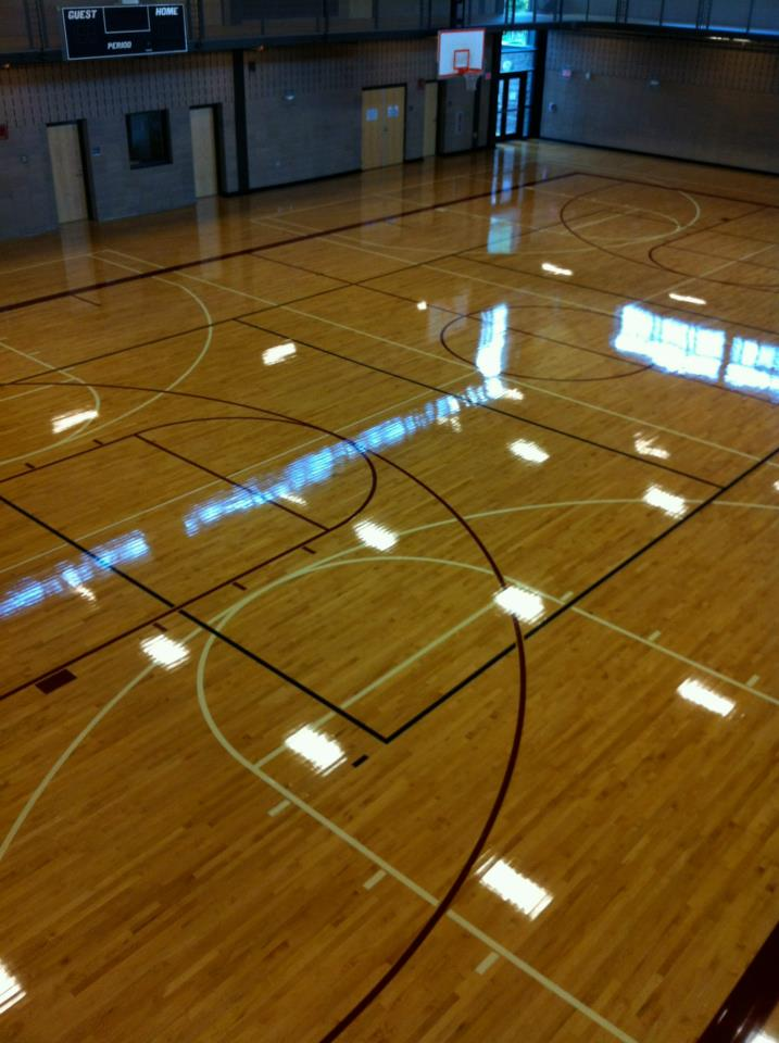 Green Step Flooring Inc Took Over The Maintenance Program And Refinished Floor By Using Bona Prep System Supersport Coating Approved Nba