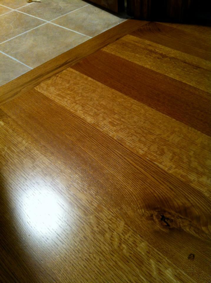 7 Quarter Sawn Antique Chestnut Oak Flooring